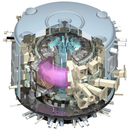 iter experimental fusion reactor 2018 2019 future