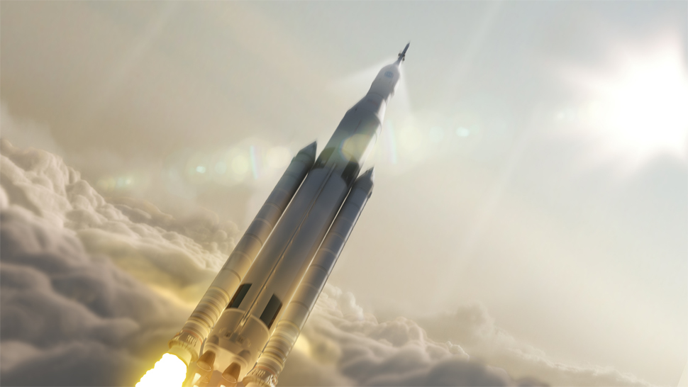 space launch system rocket