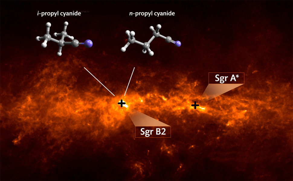 complex organic molecules in our galaxy