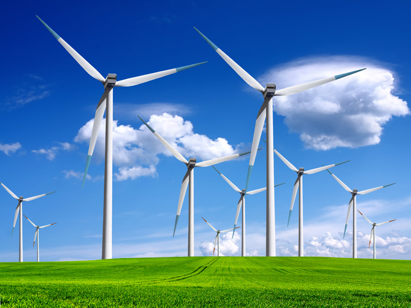 onshore wind power
