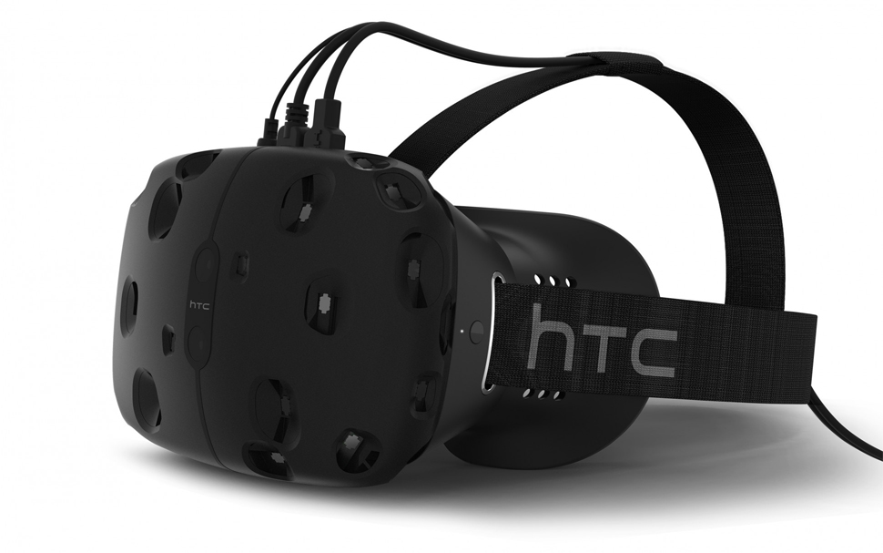 htc vive consumer virtual reality vr headset technology 2015