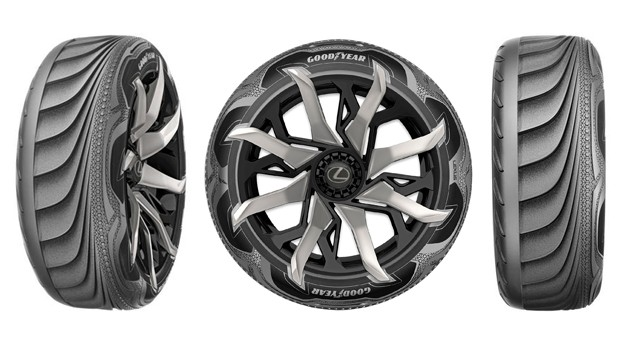 Goodyear Triple Tread >> Futuristic tires could boost electric vehicles