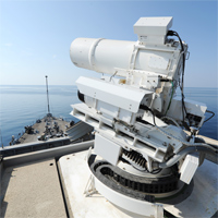 Laser weapon US Navy