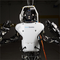 ATLAS humanoid robot by DARPA