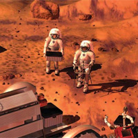 manned mars mission 2030s