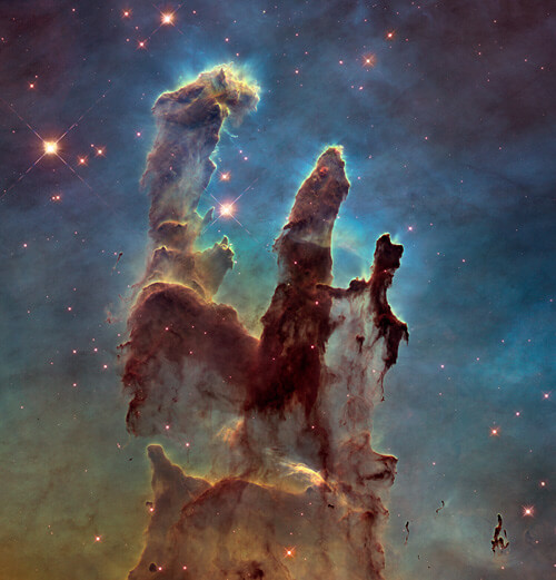 pillars of creation destroyed 6000 years ago